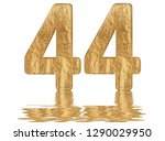 numeral 44  forty four ... | Shutterstock . vector #1290029950