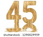 numeral 45  forty five ... | Shutterstock . vector #1290029959
