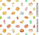 american food  cheeses  drinks  ... | Shutterstock .eps vector #1290030256