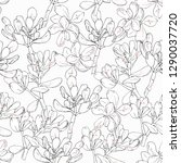 floral seamless pattern. ... | Shutterstock .eps vector #1290037720