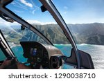 view of the na pali coast from... | Shutterstock . vector #1290038710