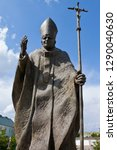 a statue of pope john paul ii...   Shutterstock . vector #1290040630