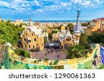 Park Guell By Architect Gaudi...
