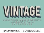 layer and texure vintage... | Shutterstock .eps vector #1290070183