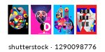 2019 new poster and cover... | Shutterstock .eps vector #1290098776