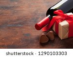 valentines day greeting card... | Shutterstock . vector #1290103303