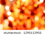 red circle light bokeh with out ... | Shutterstock . vector #1290112903