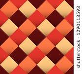 diamond shaped seamless pattern ... | Shutterstock .eps vector #1290113593