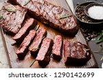 top blade or denver grilled... | Shutterstock . vector #1290142699
