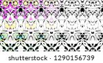 color fading abstract pattern... | Shutterstock . vector #1290156739