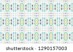 colorful mosaic seamless... | Shutterstock . vector #1290157003