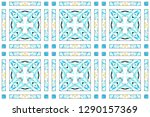 colorful seamless pattern for... | Shutterstock . vector #1290157369