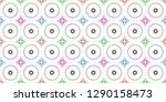 colorful seamless pattern for... | Shutterstock . vector #1290158473