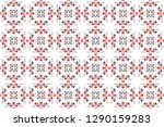 colorful seamless pattern for... | Shutterstock . vector #1290159283