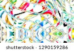 colorful abstract pattern for... | Shutterstock . vector #1290159286