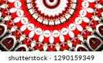 melting colorful pattern for... | Shutterstock . vector #1290159349