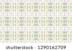 colorful mosaic seamless... | Shutterstock . vector #1290162709