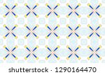 colorful seamless pattern for... | Shutterstock . vector #1290164470