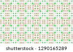colorful seamless pattern for... | Shutterstock . vector #1290165289