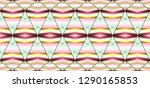 colorful seamless striped... | Shutterstock . vector #1290165853