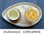caramel macchiato coffee   Shutterstock . vector #1290169846