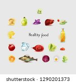 natural organic products  ...   Shutterstock .eps vector #1290201373