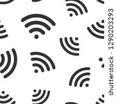 wifi internet sign icon... | Shutterstock .eps vector #1290203293