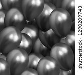background with helium balloons.... | Shutterstock .eps vector #1290209743