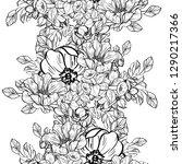 flower print. elegance... | Shutterstock . vector #1290217366
