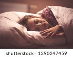 more sleep  better growth.... | Shutterstock . vector #1290247459
