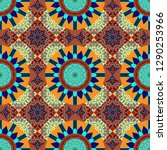 seamless asian ethnic abstract...   Shutterstock . vector #1290253966