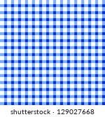 seamless retro white blue... | Shutterstock . vector #129027668
