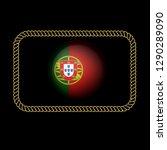 portugal gold emblem  made in...