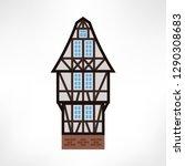 vector illustration of typical... | Shutterstock .eps vector #1290308683