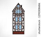 vector illustration of typical... | Shutterstock .eps vector #1290308686