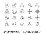 people set line icon set with... | Shutterstock .eps vector #1290319060