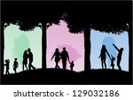 outdoor recreation.vector... | Shutterstock .eps vector #129032186
