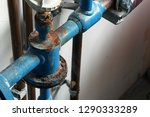 Rusty Pipeline After Leakage....