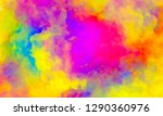 abstract colorful watercolor... | Shutterstock . vector #1290360976