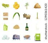 vector illustration of wheat...   Shutterstock .eps vector #1290361420