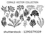 coral reef underwater plans... | Shutterstock .eps vector #1290379339