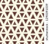contemporary geometric pattern. ... | Shutterstock .eps vector #1290391039