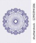 blue passport style rosette | Shutterstock .eps vector #1290394186