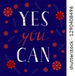 yes you can. hand drawn...   Shutterstock .eps vector #1290408496