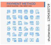 payment method icons set. ui...