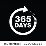 three hundred and sixty five...   Shutterstock .eps vector #1290431116