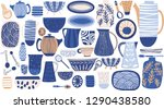 lovely bright abstract rustic... | Shutterstock .eps vector #1290438580