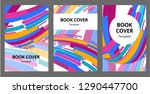 abstract composition. text... | Shutterstock .eps vector #1290447700
