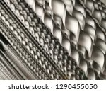drill bits of various size.... | Shutterstock . vector #1290455050