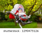 cute healthy little beautiful... | Shutterstock . vector #1290475126